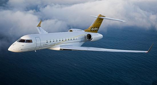 庞巴迪宣布将减少大型客舱私人飞机交付量