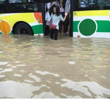 广州暴雨全城被淹损失惨重 买了这些保险能获赔