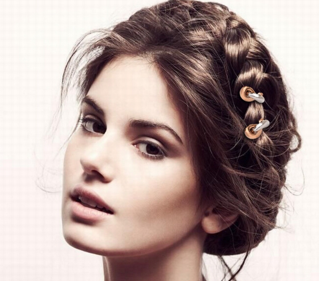 珠宝还能这样戴 闪耀在发间更迷人
