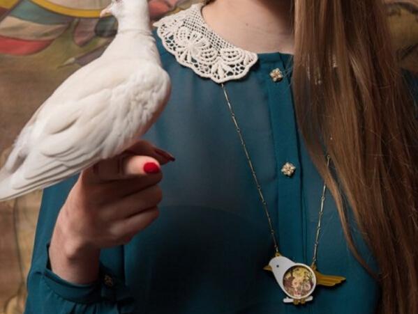 Laliblue最新系列珠宝 带你回味逝去的老时光