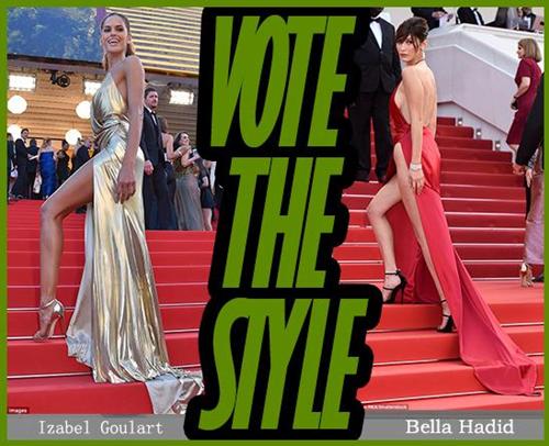 超模Izabel撞衫Bella 你更喜欢哪位红毯尤物?