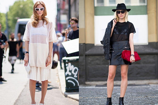 夏季服装流行趋势示范 只需一件运动内衣美翻天