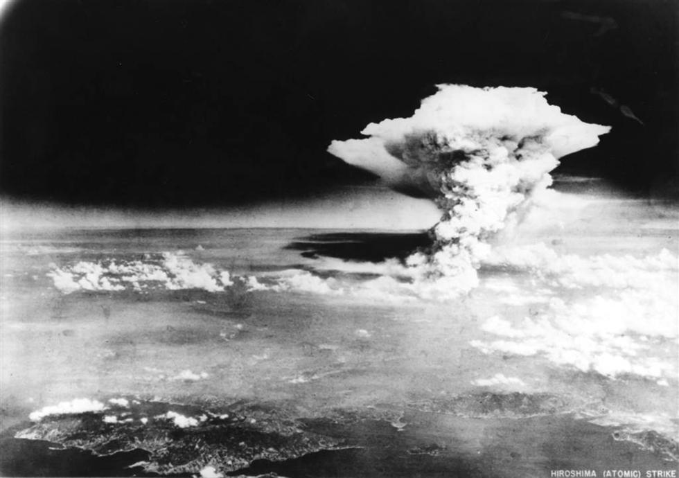 历史的灰烬:遭遇原子弹轰炸后的日本广岛