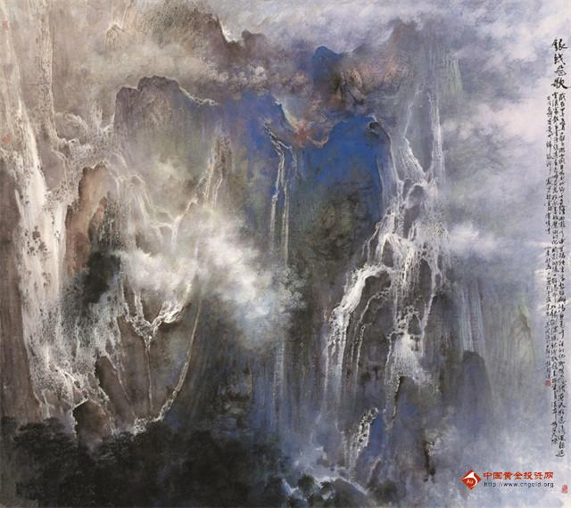 杨耀宁书画作品欣赏