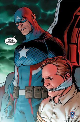 """美国队长实为""""九头蛇 这叫粉丝如何接受"""