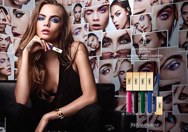 YSL推出全新叛逆时尚睫毛膏 创造无限可能