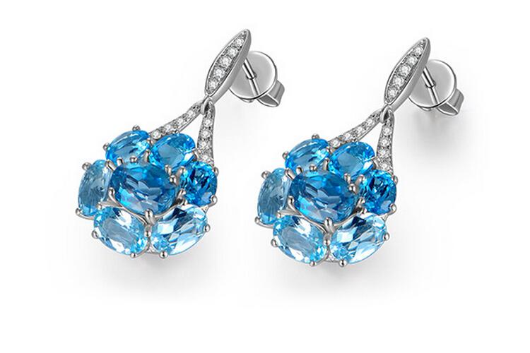 p>宝石类型:托帕石 款式:耳环 镶嵌材质:k白金镶嵌宝石 品牌:enzo /p图片