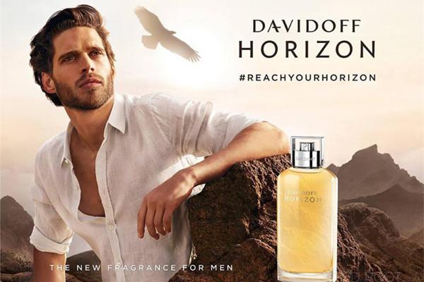 Davidoff化妆品品牌推出全新Horizon男性淡香水
