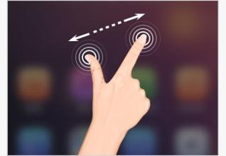 手指变大不是病 可能是滑动屏幕造成的