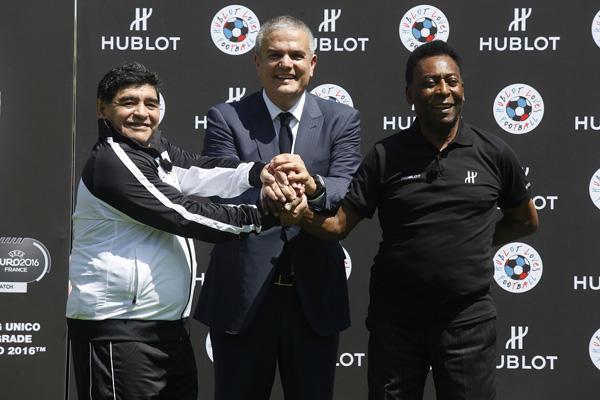 Hublot成为法国欧洲杯官方计时与官方腕表