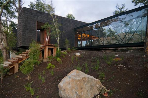 Ranco别墅:具有智利南部传统建筑特色的豪宅