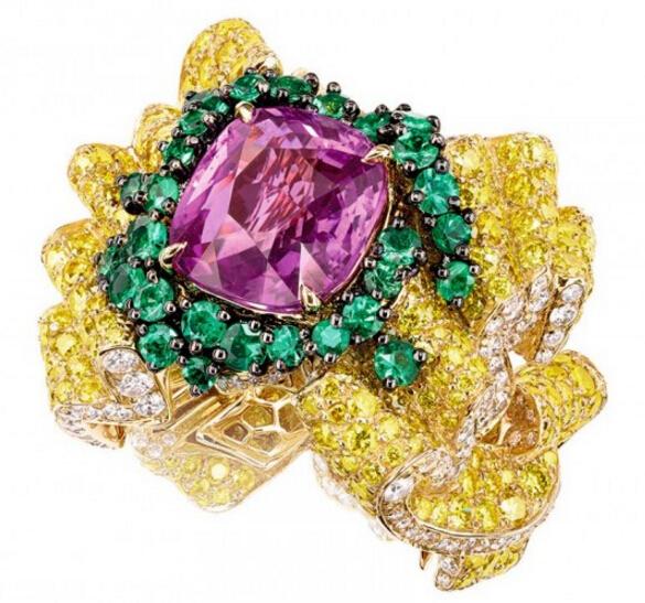 Dior顶级珠宝美作 Soie Dior系列华丽现世