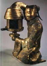 长信宫灯-西汉长信宫灯的特征-西汉长信宫灯的收藏价值