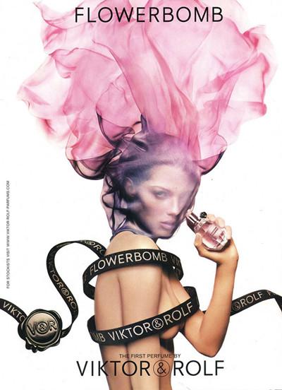 Flowerbomb化妆品品牌花朵炸弹香水推出十周年