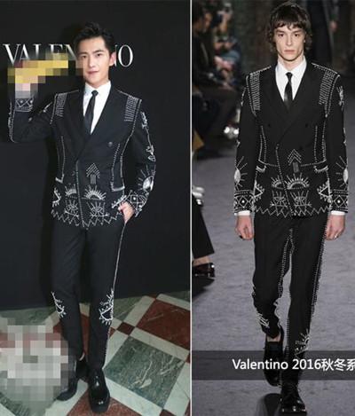巴黎男装周正式上线 杨洋穿衣搭配钉珠西服变贵族