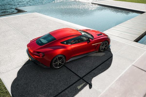 阿斯顿马丁计划推出全新Vanquish Zagato跑车