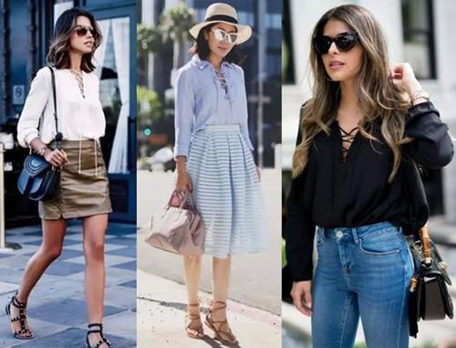 """夏季服装流行趋势示范 明星告诉你成败""""一根绳"""""""