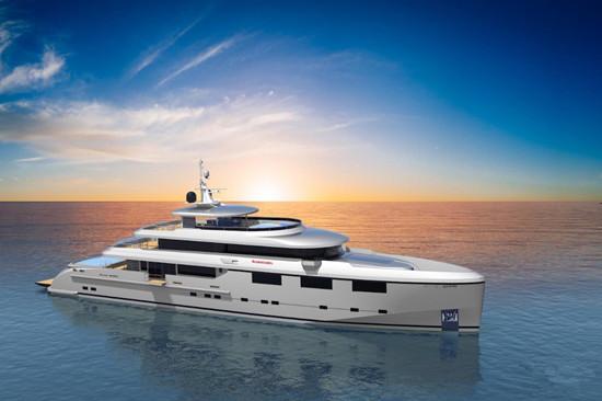 中国海星船厂发布全新47米超级游艇概念设计