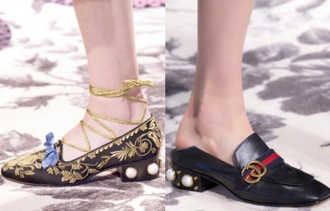 """珍珠一点都不""""土"""" 装在鞋子上的它时髦的要飞了"""