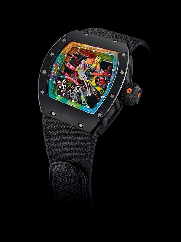 手腕上的艺术品 Richard Mille全新Cyril Kongo腕表