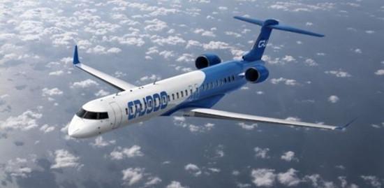庞巴迪收到10架CRJ900支线私人飞机订单