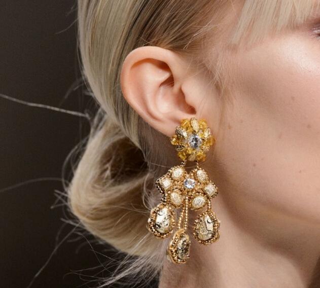 2016年巴黎秋冬高定时装周的珠宝配饰美炸了!