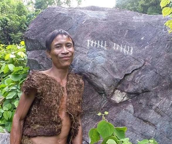 """现代""""丛林人"""" 越南父子丛林生活41年"""