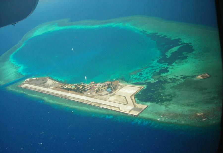 中国南海最新消息 中国南海岛礁实际控制图是什么