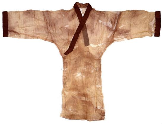 西汉素纱褝衣收藏鉴赏