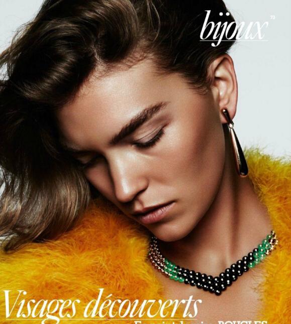 华丽诱惑!超模演绎八月号法国版Vogue高级珠宝专题大片