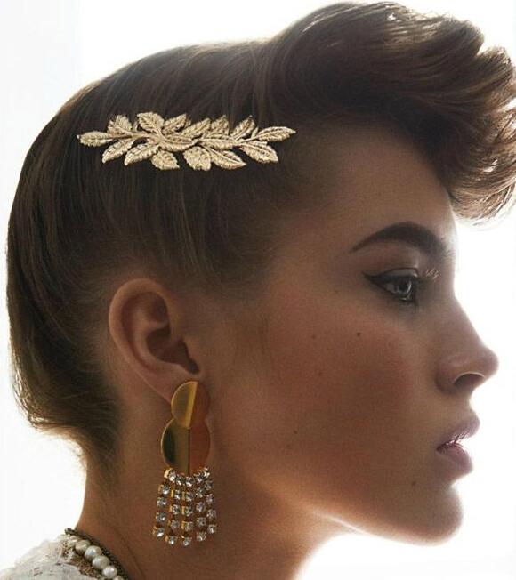 美国版Allure发饰大片 超模充分诠释对珠宝发饰的迷恋