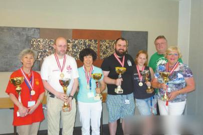 奥地利世界麻将大赛中国大妈包揽冠军季军