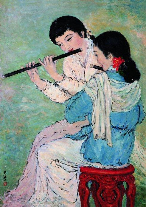 方君璧从水墨到油画 轰动巴黎的民国才女