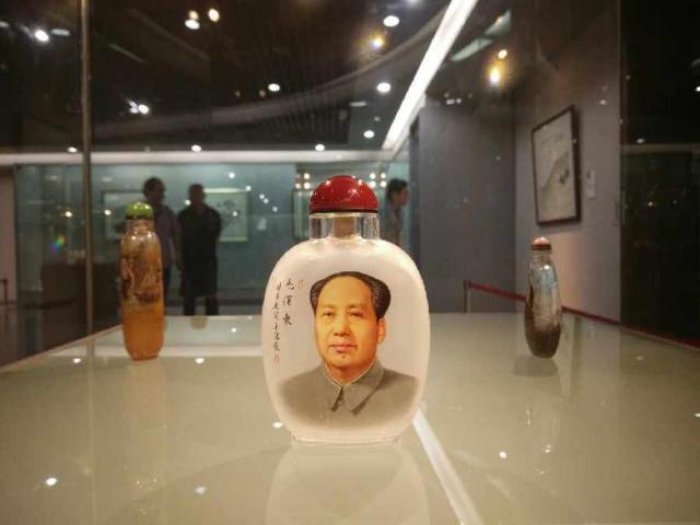 中国工美学会鼻烟壶研究会成立 首展西安