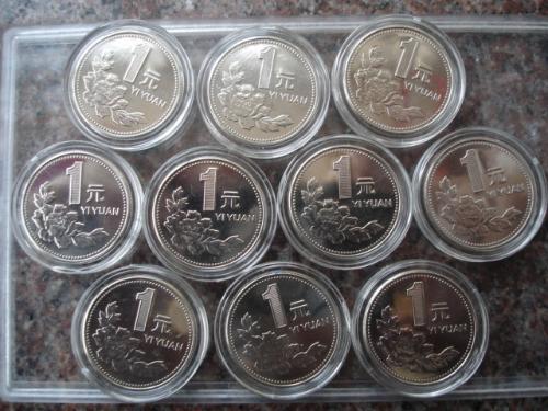 为什么2000年牡丹1元硬币比菊花1元硬币值钱?