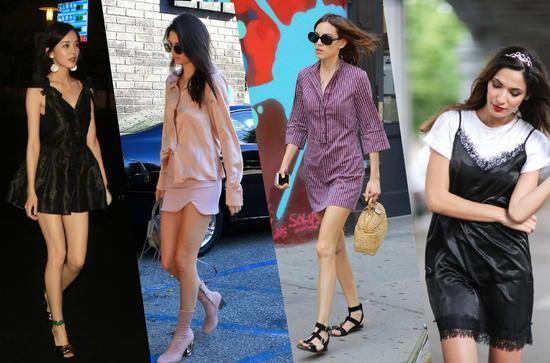 夏季服装流行趋势示范 睡衣风轻松潮出自我风格
