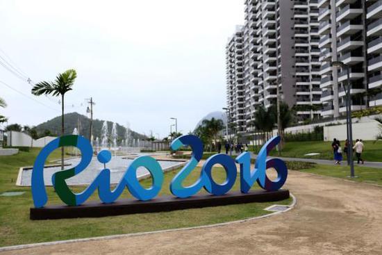 里约奥运村开村 共有31栋楼房3600个套间
