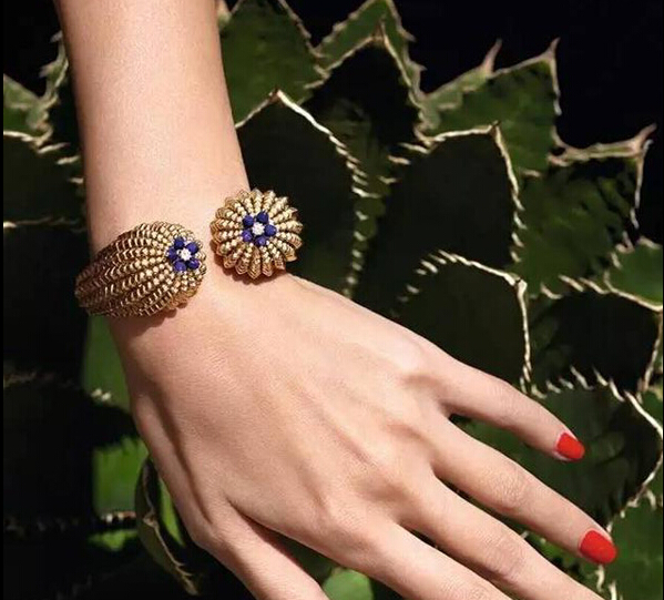 卡地亚全新Cactus de Cartier系列珠宝 演绎仙人掌独特美