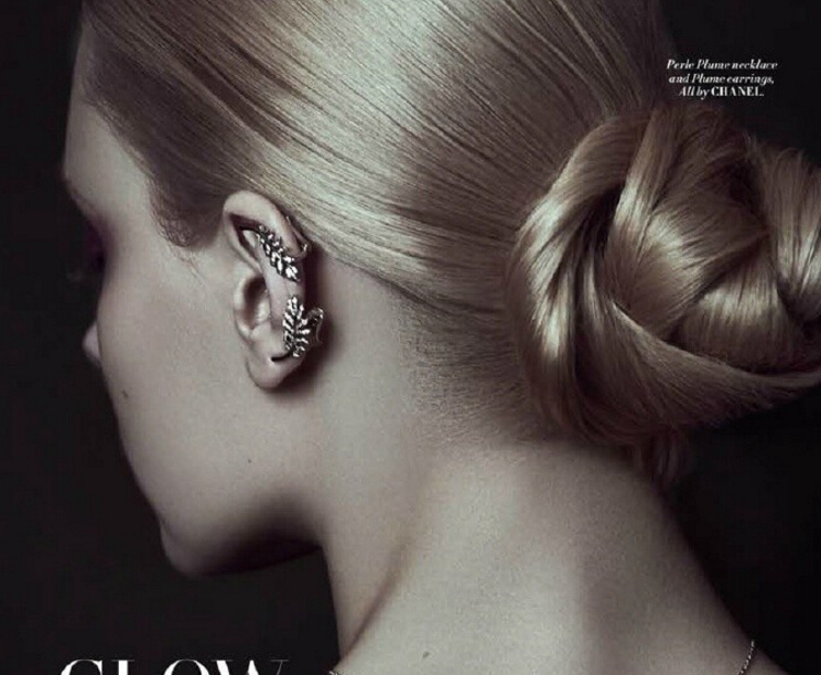 马来西亚杂志《L'Officiel》暗黑风格珠宝大片来袭