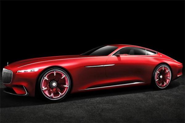 迈巴赫6概念车正式发布 定位于豪华双门Coupe跑车