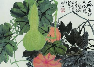 书画收藏与鉴赏:赵之谦的葫芦画收藏鉴赏