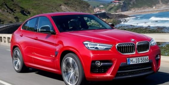 定位轿跑风格SUV车型 宝马全X4增加更多电子科技