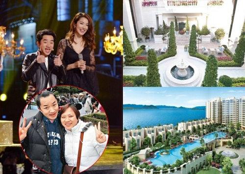 王祖蓝为母买豪宅 一年时间花费1亿元购置房产