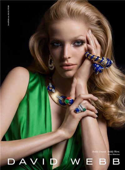 David Webb珠宝品牌释出2016秋冬系列广告大片