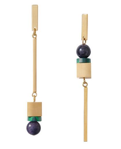 """涨颜值提气质 这些彩色珠宝耳环让你的耳朵不再""""寂寞"""""""