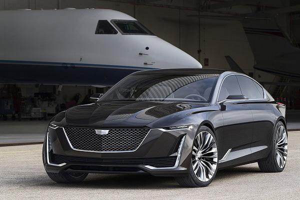 凯迪拉克美国原石滩车展正式发布Escala概念车