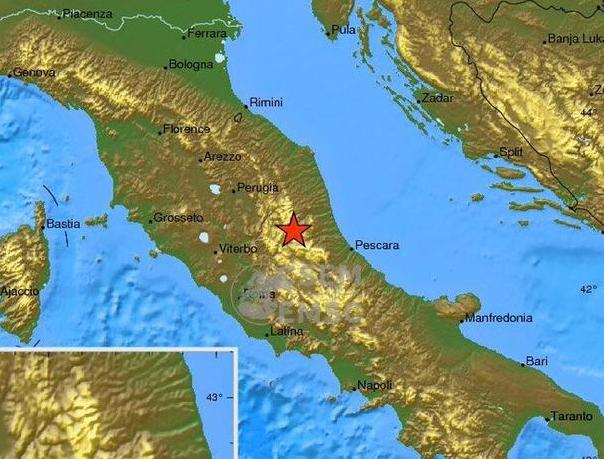 意大利6.4级地震 距离罗马113公里!