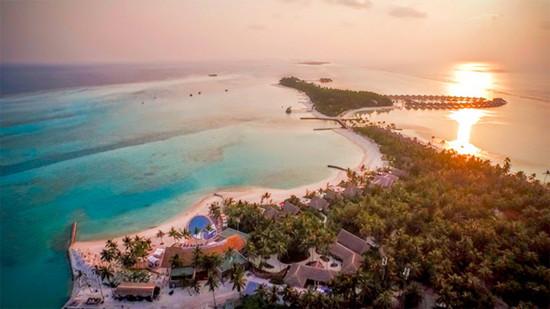 马尔代夫PER AQUUM海岛度假酒店 浑然天成的设计感