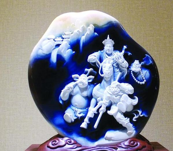 """玉器石雕界最高评奖""""百花奖""""进入倒计时 众多作品争艳"""