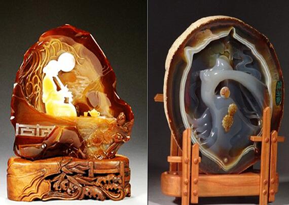 """逊克红玛瑙""""点亮""""黑龙江国际文化产业博览会"""